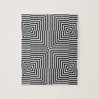 Ilusión óptica para hypnotherapy puzzle
