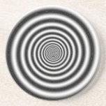 Ilusión óptica posavasos cerveza