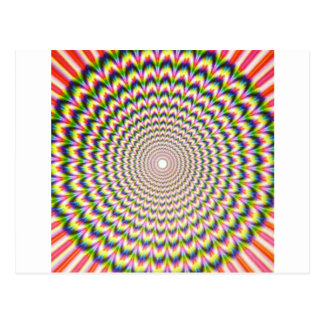 Ilusión óptica postal