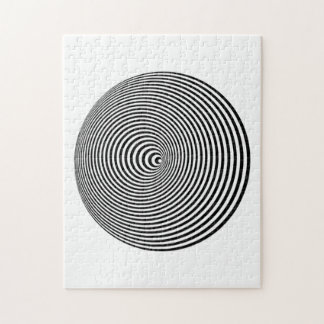 Ilusión óptica puzzle con fotos