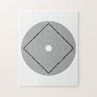 Ilusión óptica rompecabezas