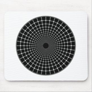 Ilusión óptica tapetes de ratón