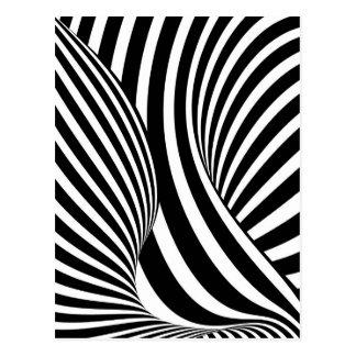 Ilusión óptica tarjetas postales