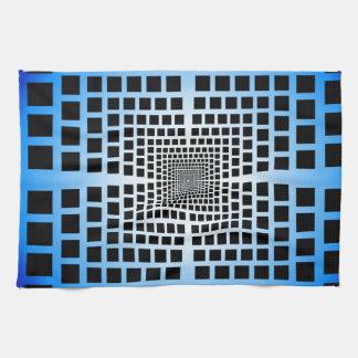 Ilusión óptica toallas
