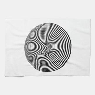 Ilusión óptica toallas de cocina