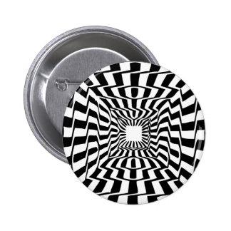 Ilusión Pin Redondo De 2 Pulgadas