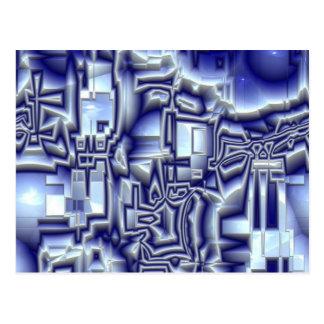ilusión reflexiva 01 (i) tarjeta postal