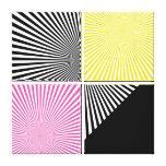 Ilusiones - impresión envuelta de la lona - SRF Lienzo Envuelto Para Galerías