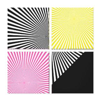 Ilusiones - impresión envuelta de la lona - SRF Lona Estirada Galerias