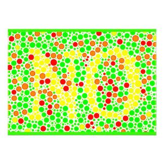ilusiones ópticas de los colorful_polkadots invitacion personal