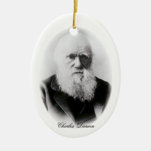 Ilustración de Charles Darwin Adorno