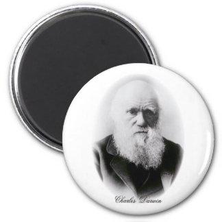 Ilustración de Charles Darwin Iman Para Frigorífico