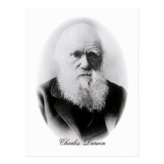 Ilustración de Charles Darwin Postales