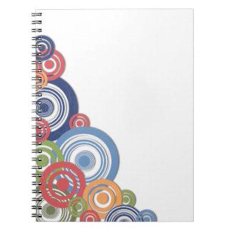Ilustración de la esquina cuadernos