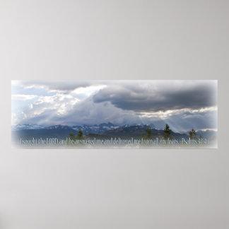 Ilustración de la luz del panorama del 34:4 de los poster