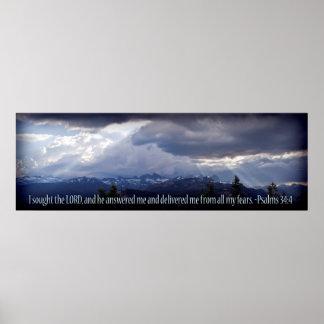 Ilustración de la oscuridad del panorama del 34:4 impresiones