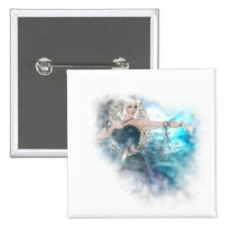 Ilustración de la sirena del cielo de la fantasía