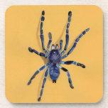 ilustración de una araña posavasos