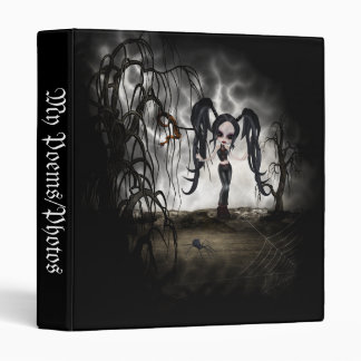 Ilustración del chica del gótico de la sepia