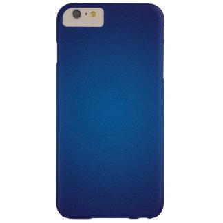 Ilustración granosa azul marino profunda funda barely there iPhone 6 plus