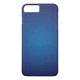 Ilustración granosa azul marino profunda funda iPhone 7 plus