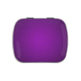 Ilustración granosa Púrpura-Negra de moda Jarrones De Dulces