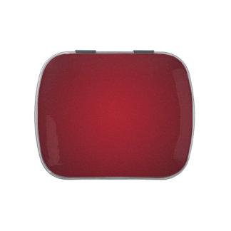 Ilustración granosa Rojo-Negra de moda Frascos De Caramelos