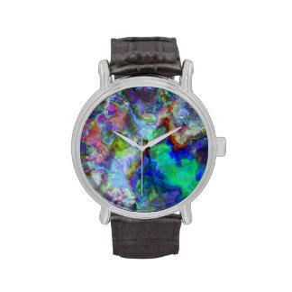 Ilustraciones abstractas 4 TPD Reloj