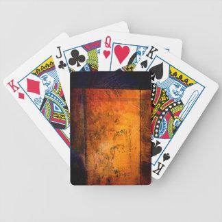 Ilustraciones abstractas clásicas barajas de cartas