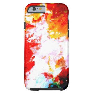 Ilustraciones abstractas creativas funda de iPhone 6 tough