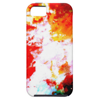 Ilustraciones abstractas creativas funda para iPhone 5 tough
