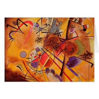 Ilustraciones abstractas de Kandinsky Tarjeta De Felicitación