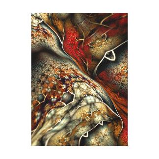 Ilustraciones abstractas del fractal de Glynnia Lienzo Envuelto Para Galerías