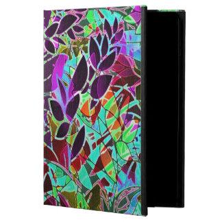 ilustraciones abstractas florales de la caja del a