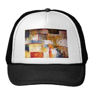 Ilustraciones abstractas gorras de camionero
