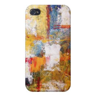 Ilustraciones abstractas iPhone 4 funda