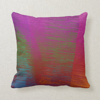 Ilustraciones abstractas multicoloras cojín decorativo