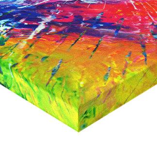 Ilustraciones abstractas originales #200 lona estirada galerías