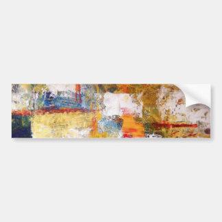 Ilustraciones abstractas pegatina para auto