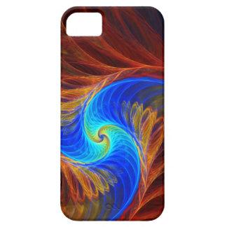 Ilustraciones abstractas psicas de Fracta iPhone 5 Protectores