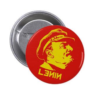Ilustraciones amarillas y rojas del comunista de L Pin Redondo De 2 Pulgadas