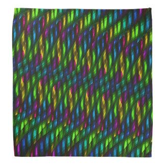 Ilustraciones azulverdes del extracto del mosaico