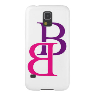 Ilustraciones con B en rosa y púrpura Funda De Galaxy S5