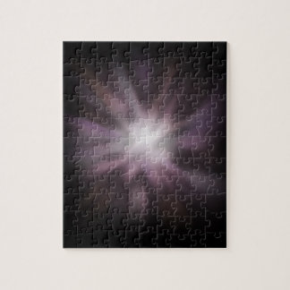 Ilustraciones cósmicas de la explosión rompecabeza