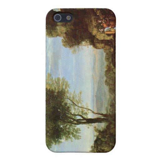 Ilustraciones de Claude Lorrain iPhone 5 Carcasas