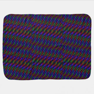 Ilustraciones de cristal del extracto del mosaico  mantas de bebé