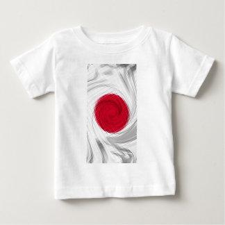 Ilustraciones de la bandera de Japón Playera Para Bebé