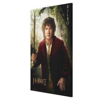 Ilustraciones de la edición limitada: Bilbo Impresión En Lona