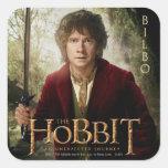 Ilustraciones de la edición limitada: Bilbo Pegatinas Cuadradases