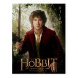 Ilustraciones de la edición limitada: Bilbo Postal